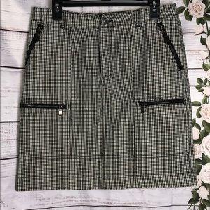 Any 2 items for $10 Liz Claiborne checkered skirt
